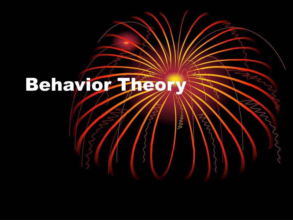 behavior theory l.