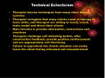 technical eclecticism
