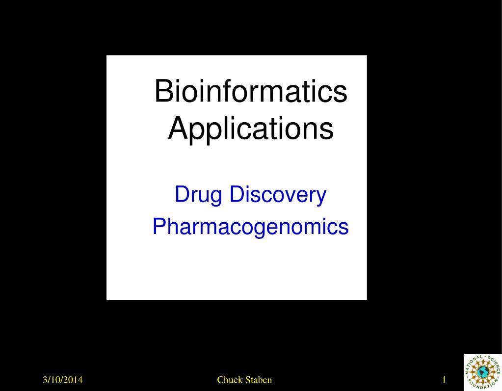 bioinformatics applications l.