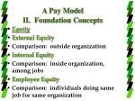 a pay model ii foundation concepts