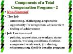 components of a total compensation program 2