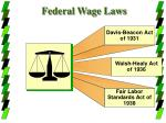 federal wage laws