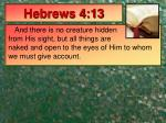 hebrews 4 13