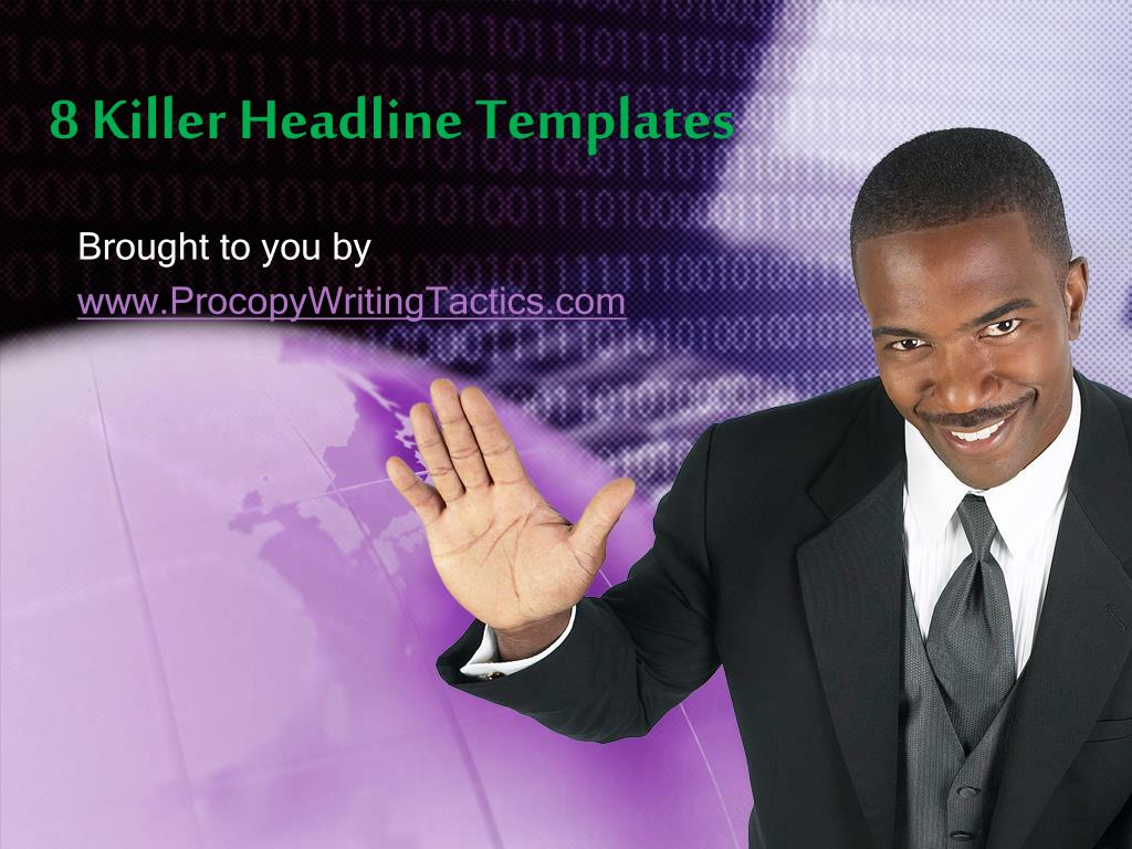 8 killer headline templates l.