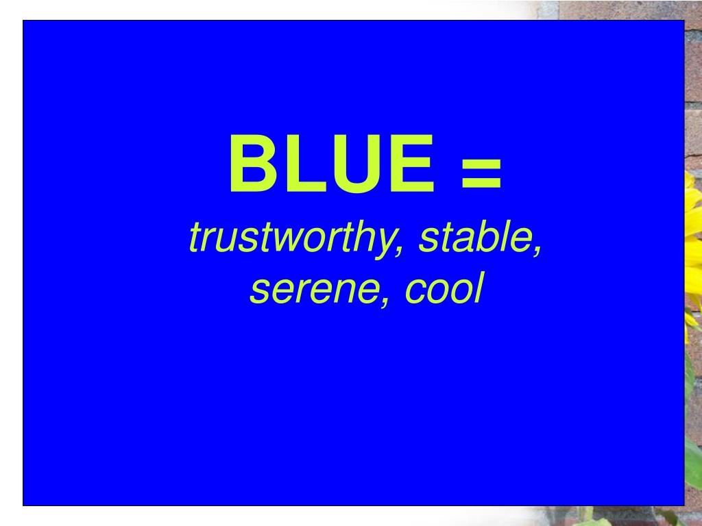 BLUE =