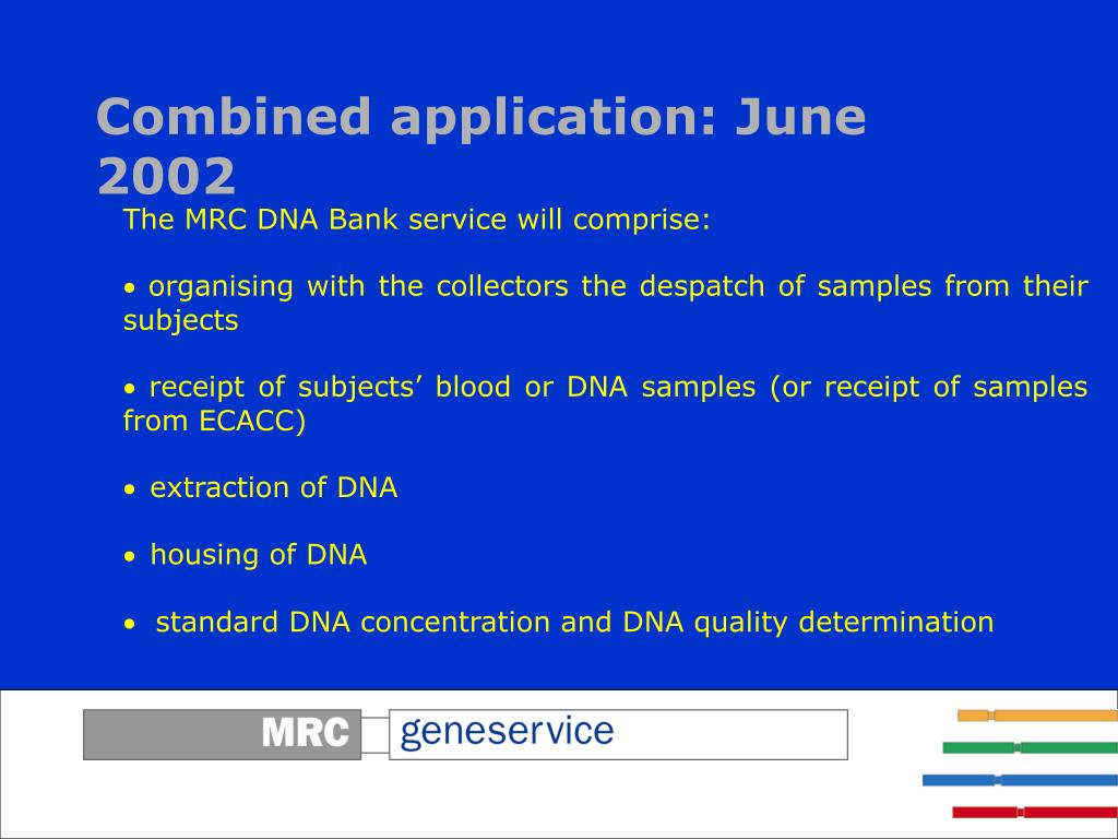 Combined application: June 2002