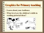 graphics for primary teaching