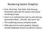 rendering vector graphics