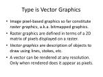 type is vector graphics