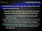 copying arrays42