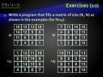 exercises 10
