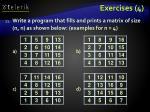 exercises 4
