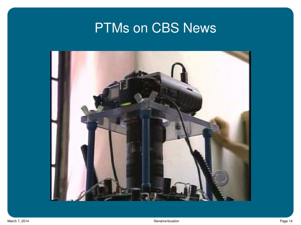 PTMs on CBS News
