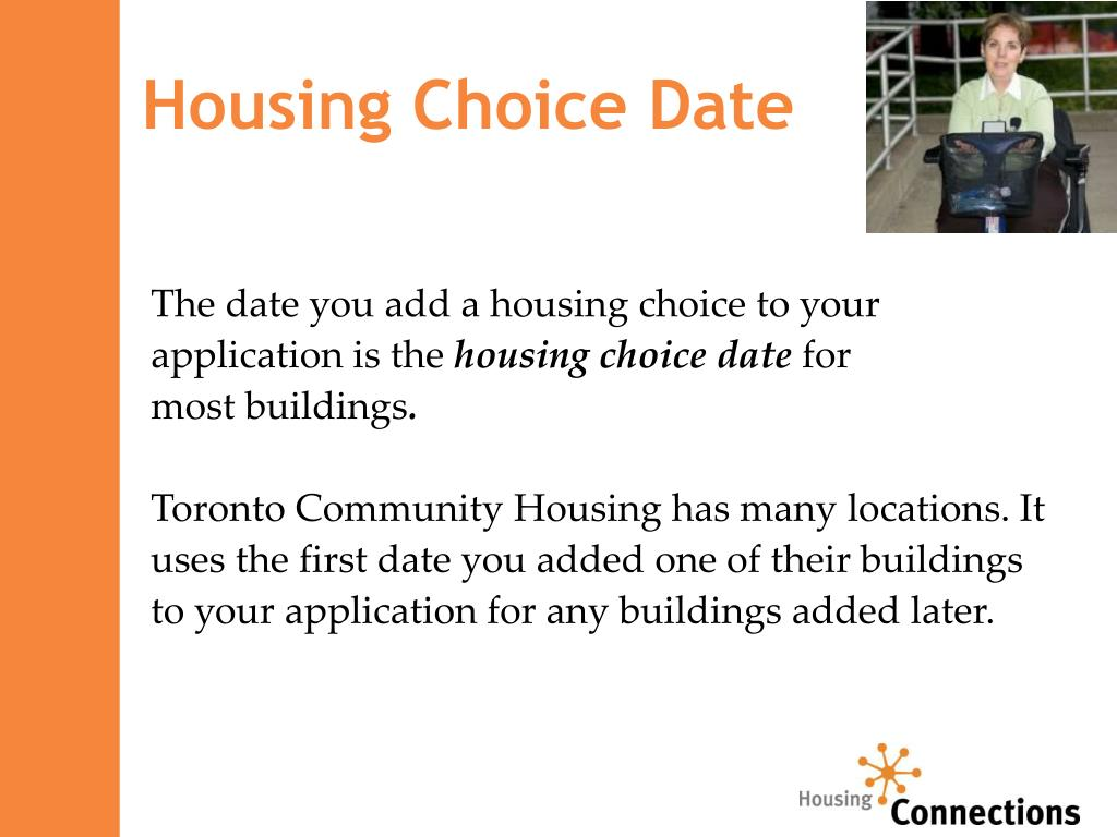 Housing Choice Date