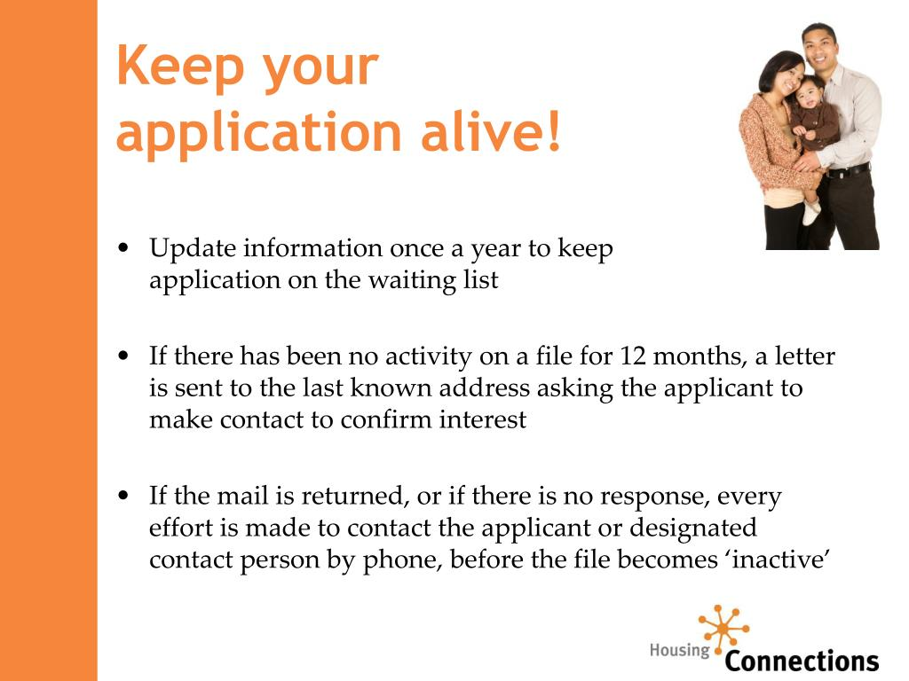 Keep your                         application alive!