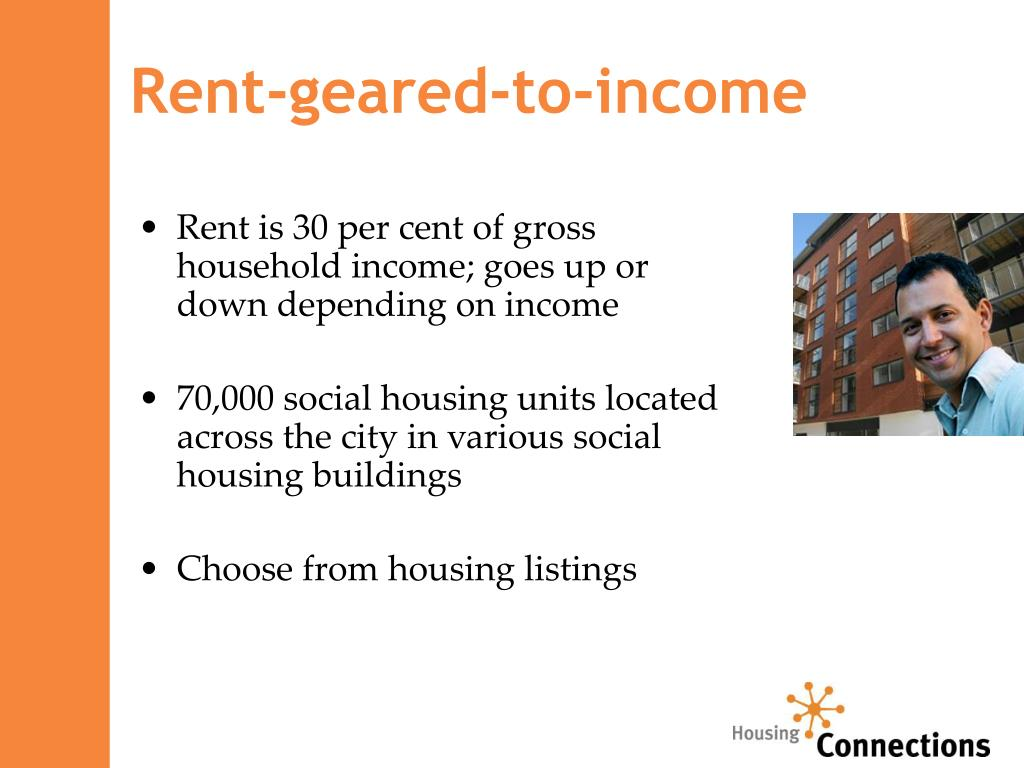 Rent-geared-to-income