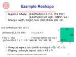 example reshape16