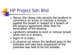hp project sdn bhd
