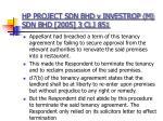 hp project sdn bhd v investrop m sdn bhd 2005 3 clj 851