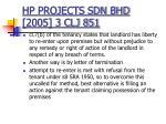 hp projects sdn bhd 2005 3 clj 851