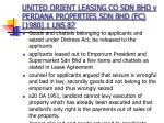 united orient leasing co sdn bhd v perdana properties sdn bhd fc 1980 1 lns 87