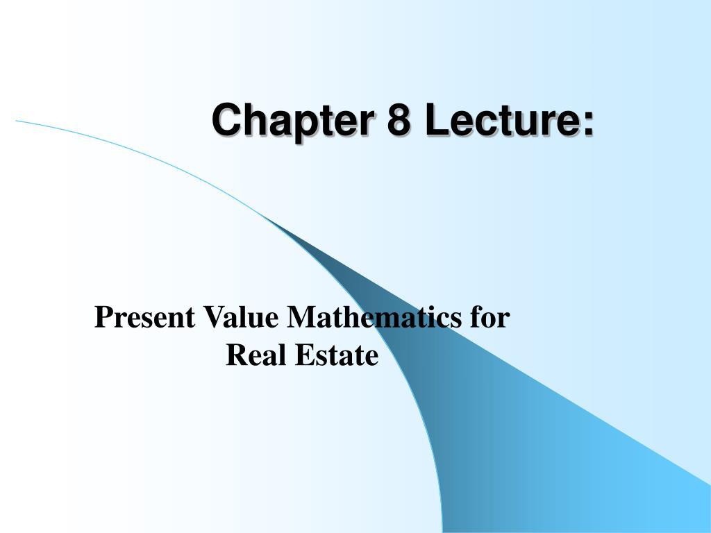 chapter 8 lecture l.