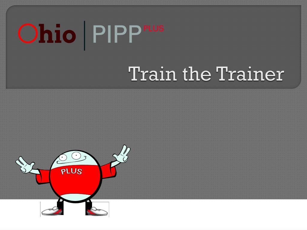 train the trainer l.