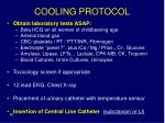 cooling protocol