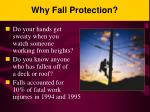 why fall protection
