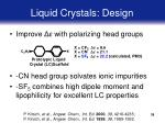 liquid crystals design39