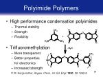 polyimide polymers