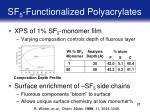 sf 5 functionalized polyacrylates37