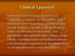 clinical approach25