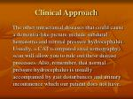 clinical approach26