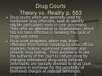 drug courts theory vs reality p 553