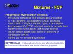 mixtures rcp93