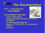 the documentation