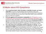 10 myths about pci compliance