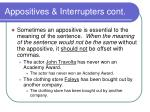 appositives interrupters cont10