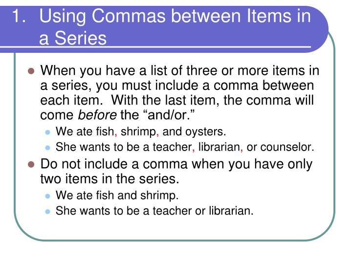 Commas After Introductions // Purdue Writing Lab