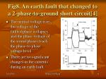 fig8 an earth fault that changed to a 2 phase to ground short circuit 4