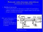 protec o contra descargas atmosf ricas contornamento do transformador
