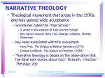 narrative theology