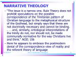 narrative theology21