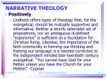 narrative theology24