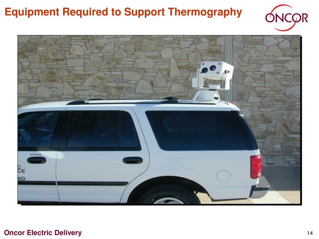 Equipment Required to Support Thermography