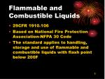 flammable and combustible liquids3