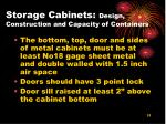storage cabinets design construction and capacity of containers31