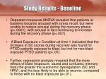 study results baseline