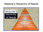 maslow s hierarchy of needs18
